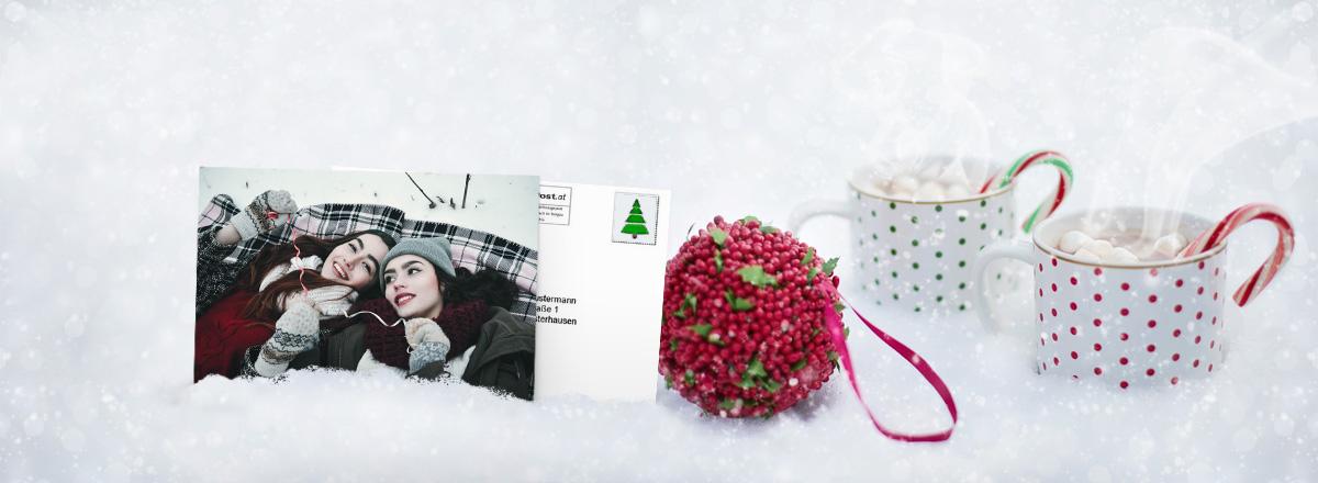 Foto-Postkarte online gestalten