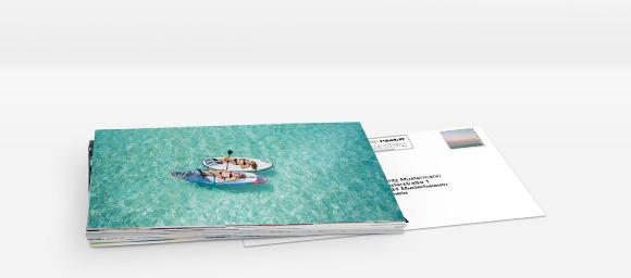 Foto-Postkarten online gestalten und bestellen